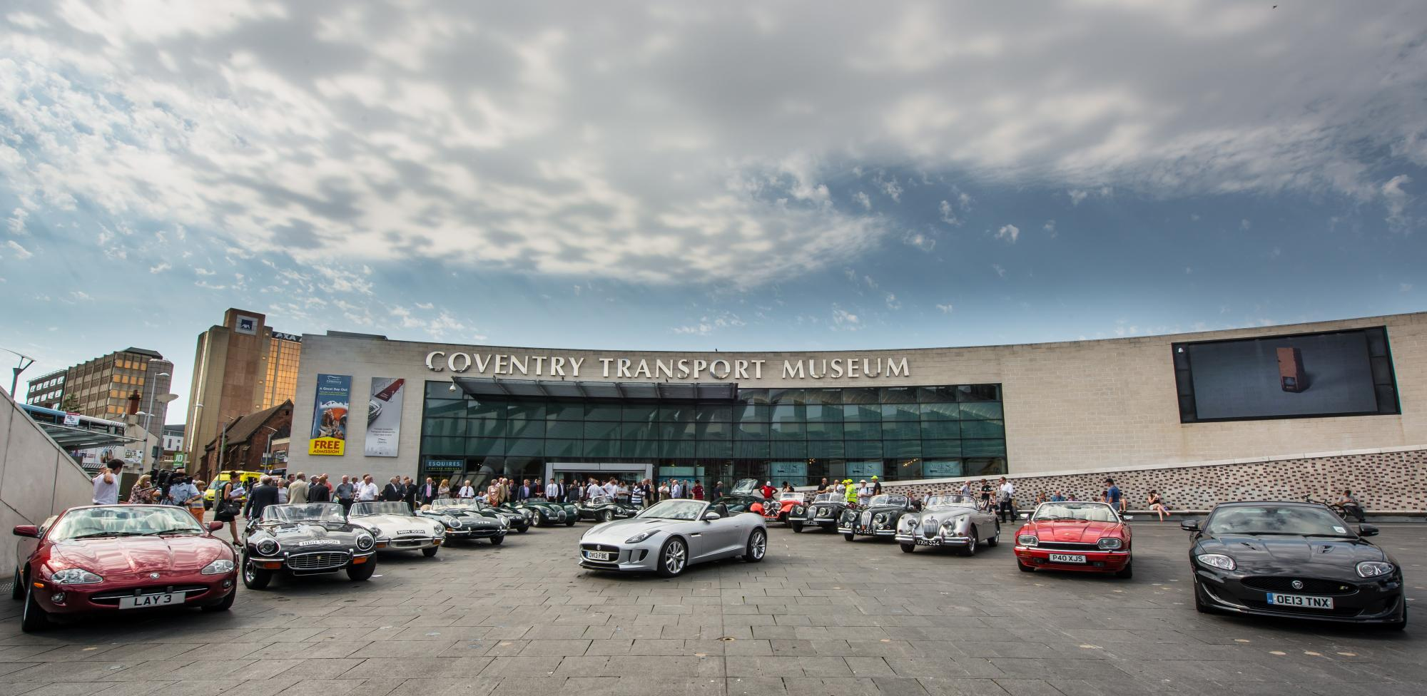 Jaguar Heritage And Coventry Transport Museum Celebrate