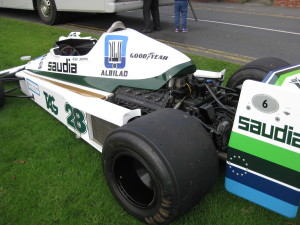 Alan Jones 1978 Williams Ford Cosworth FW06 F1 car