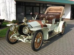 1905 Mercedes Simplex Phaeton