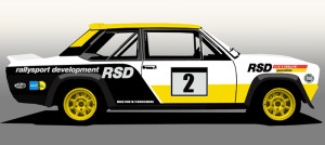 The Fiat 131 Abarth