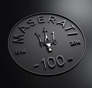 The Maserati Centennial logo