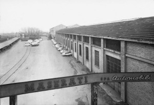 The Maserati factory in 1965