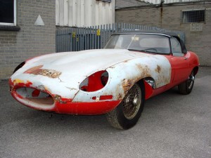 1965 E-type roadster