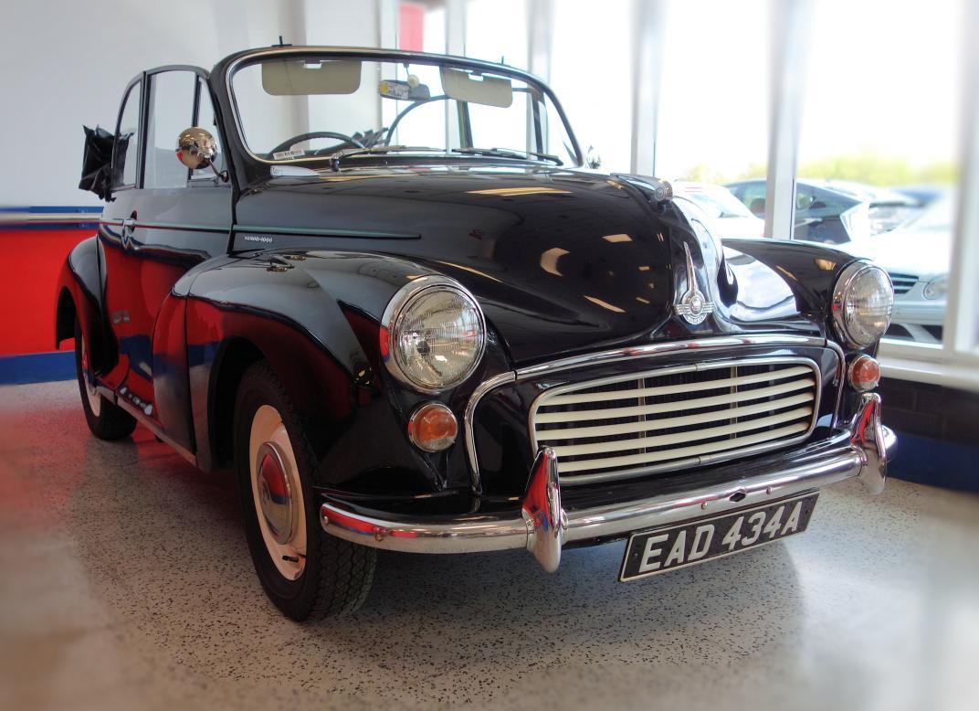 Vintage Morris 1000 Convertible For Sale at BCA   Classic Car ...
