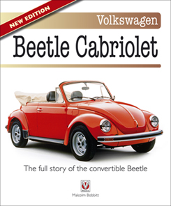 New edition of The book of the Beetle Cabriolet