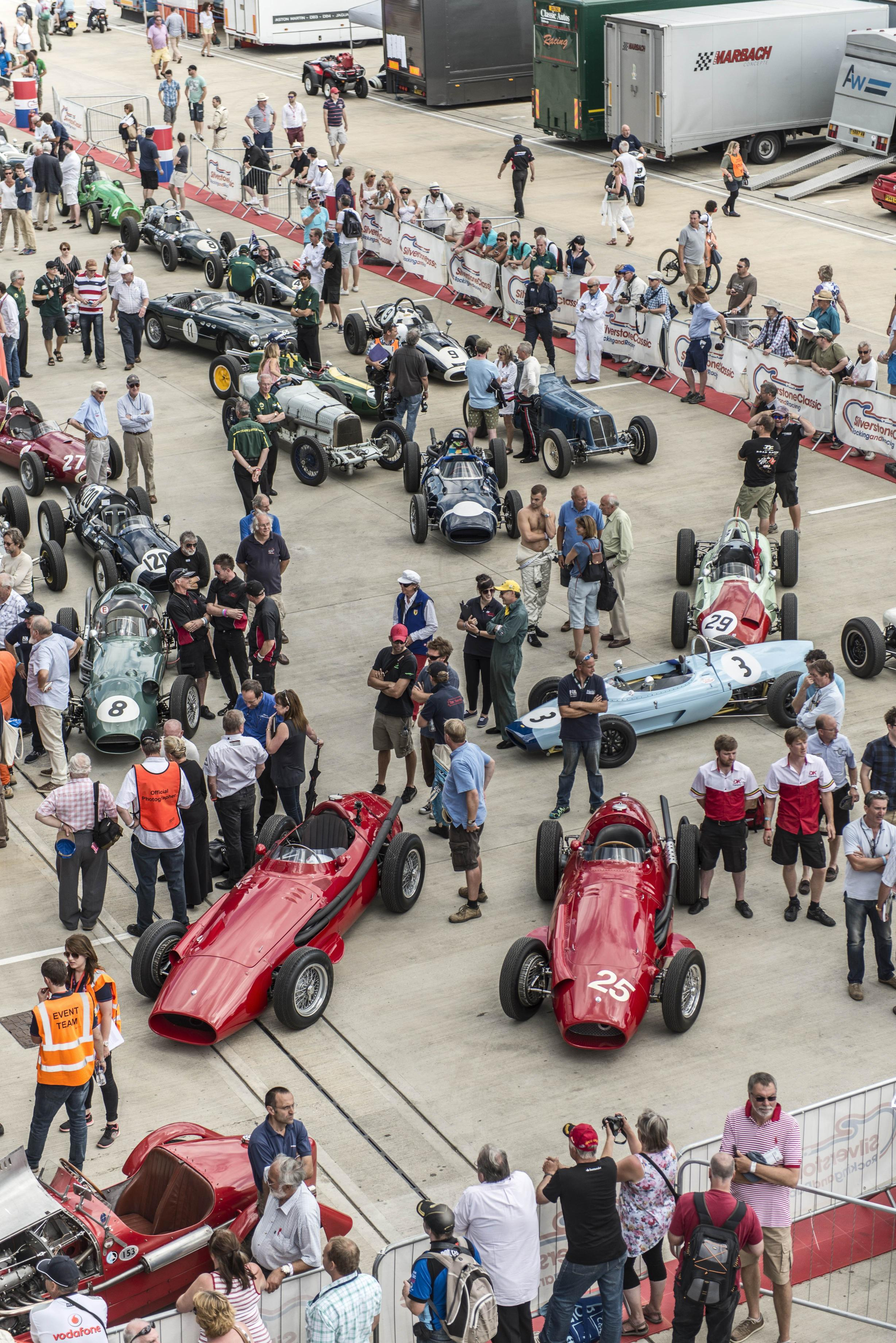 Silverstone Classic Celebrates Maserati\'s 100th With A Glittering ...