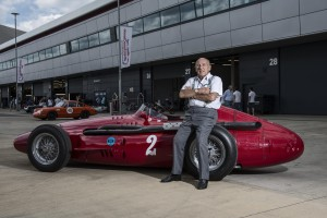 Stirling Moss and 250F