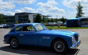 Reims at breakfast, Brooklands for lunch Peter Golding ensured Donald Campbell's DB24 attended
