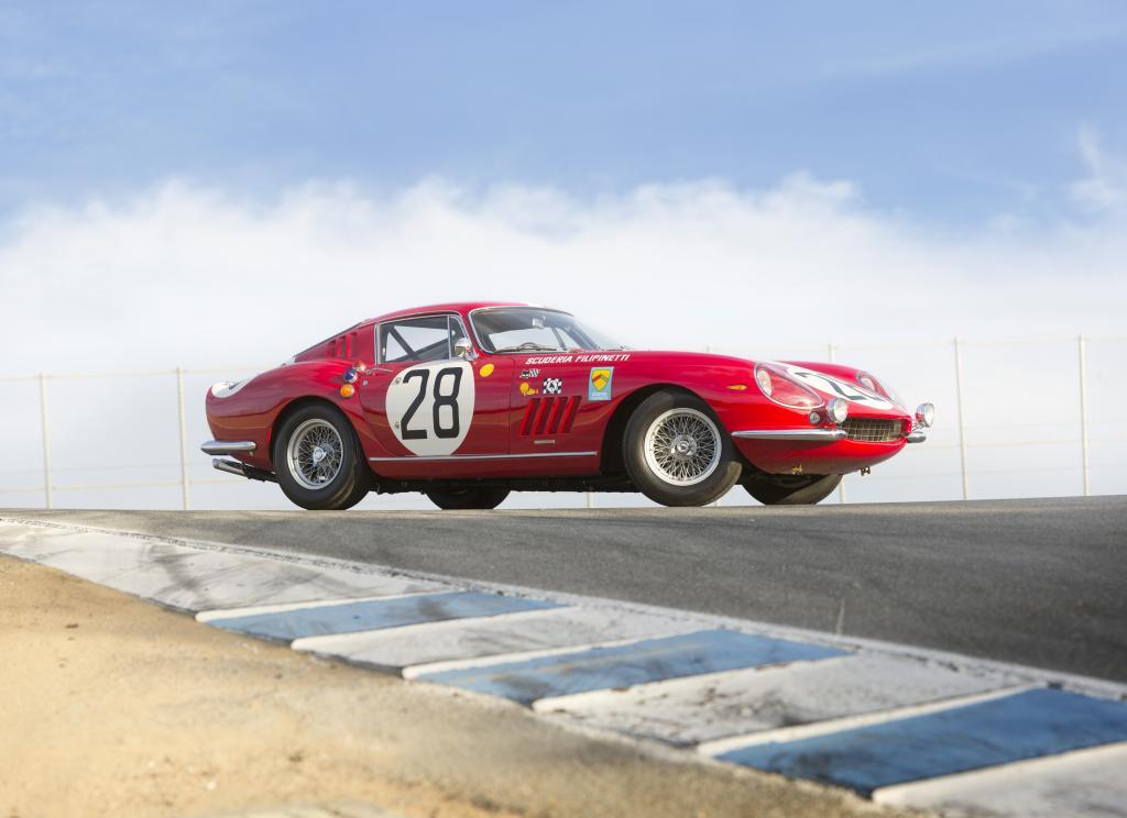 Le Mans Winning Ferrari 275 Gtb Joins Bonhams Classic Car Auction