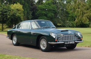 Sir Paul McCartney's Aston Martin DB6
