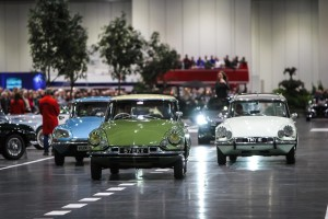 Citroen clelebtaed 60 years of the DS