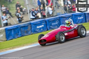Maserati 250F driven by Joaquim Folch finished in 3rd of the Maserati Trophy