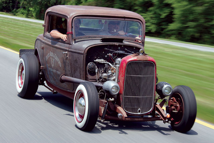 hot rods get set to tear up the track at american