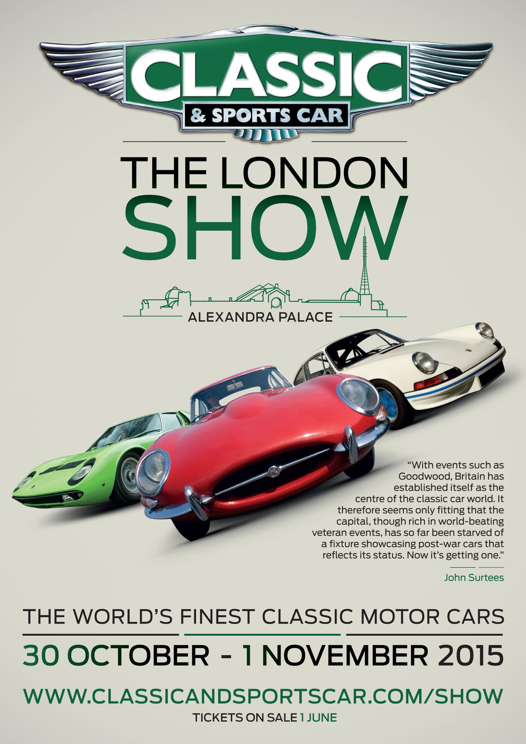 Classic & Sports Car – The London Show | Classic Car Magazine ...