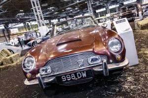 Aston Martin Volante on Heritage Barn Find