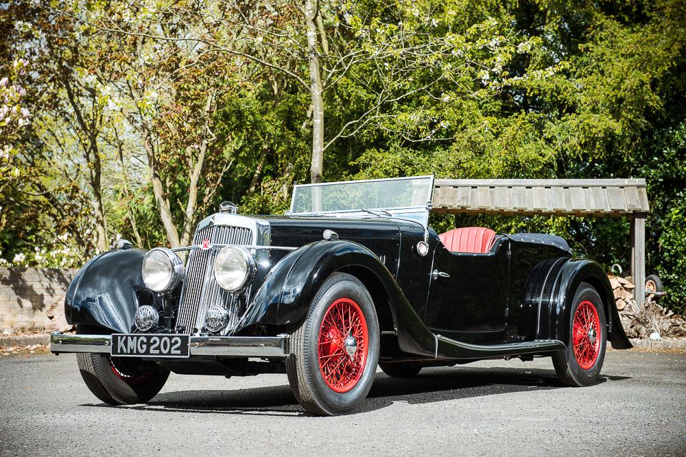 rare pre war aston martin grand tourer for auction classic car magazine classic car magazine. Black Bedroom Furniture Sets. Home Design Ideas