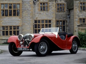 Only 191 examples of the SS100 Jaguar 2 1/2 Litre were made