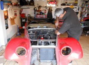 Stevens Sienna prototype restoration