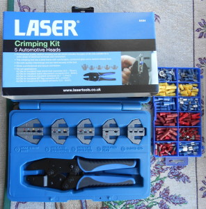 Laser Tools Ratchet Crimping Tool
