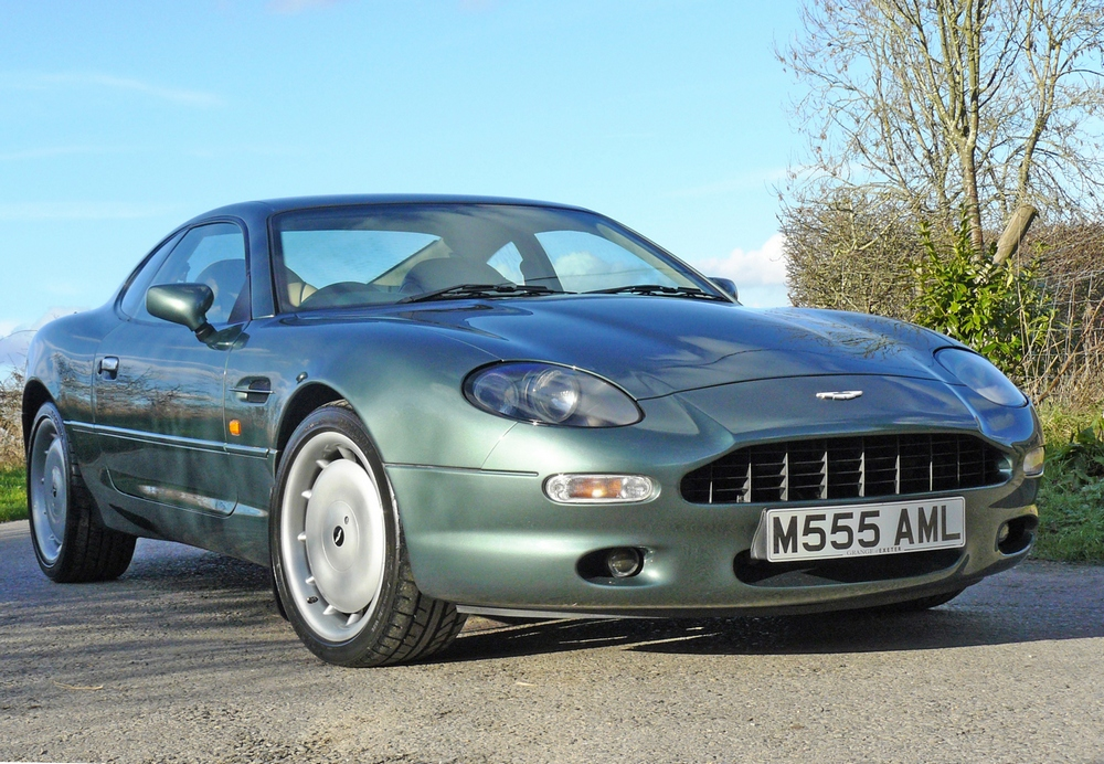 1996 aston martin db7 comes to sale at historics classic