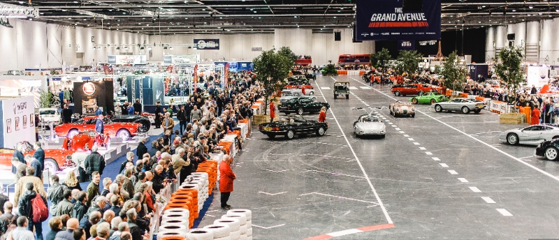 Get Ready For The Classic Car Show Classic Car Magazine Classic - London classic car show