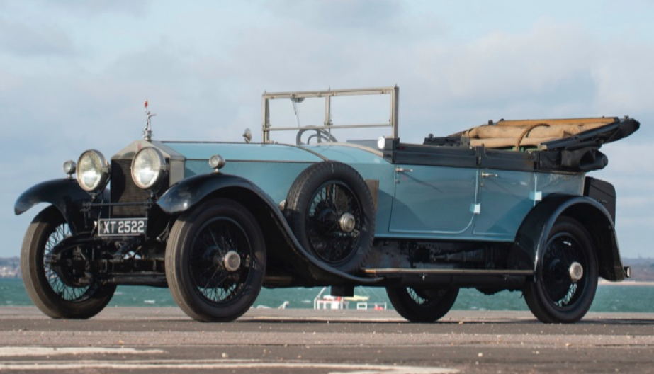 Lord Mountbatten\'s Long-Lost Rolls-Royce Offered For Sale ...
