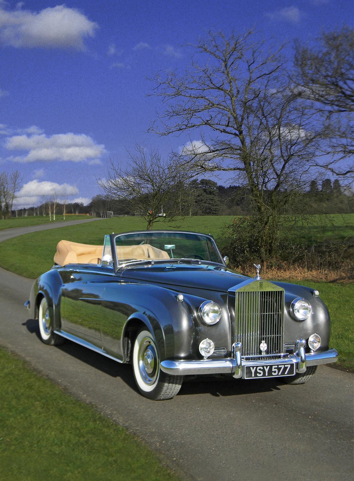 1962 rolls royce silver cloud ii drophead coupe for sale classic car magazine classic car. Black Bedroom Furniture Sets. Home Design Ideas