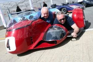 Steve Webster and 1987 500cc World Champion Wayne Gardner