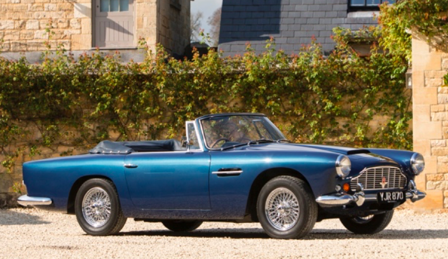 Aston Martin Sale Offers Magnificent Models From The 1960s