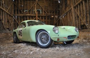 The very first production Lotus Elite, bought new by Jazz legend Chris Barber, will be auctioned by Silverstone Auctions at the Silverstone Classic on 30th and 31st July