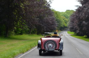The south-downs and the Riley 9 Lynx make for a great driving experience