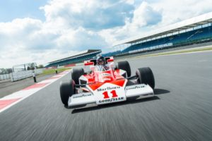 40th anniversary display celebrating James Hunt's 1976 World Championship will include title winning McLaren M23