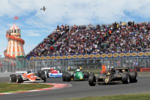 The FIA Masters F1 Championship is always a highlight at the Classic