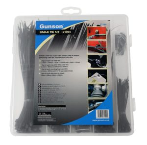 Versatile cable tie & accessory kit from Gunson