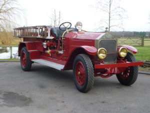 This La France fire truck from 1918 is where it all started for Julian and his Speedsters