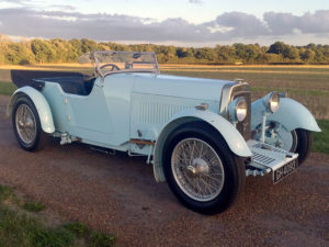 A 1930 Aston Martin International 1.5 Litre Short Chassis Tourer