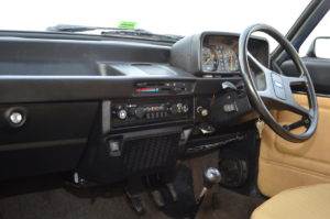 James Series 3 features the original radio, an age when beige and black trim combination worked
