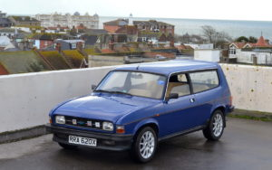The estate version wasn't unattractive a look likened to the Reliant Scimitar