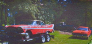 Alan's Plymouth saved from Katrina, the world's costliest natural disaster, no trace was ever found of the Dodge alongside