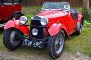 HRG created a real British Sports car this 1100cc from 1949