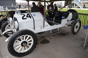 All in white a 1915 Stutz Bearcat virtually unbeatable in its day