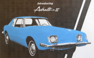 Arriving in 1964 the Chevy powered Avanti II survived for a decade