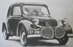 Attractive but doomed the Kendall 6hp saloon from 1946
