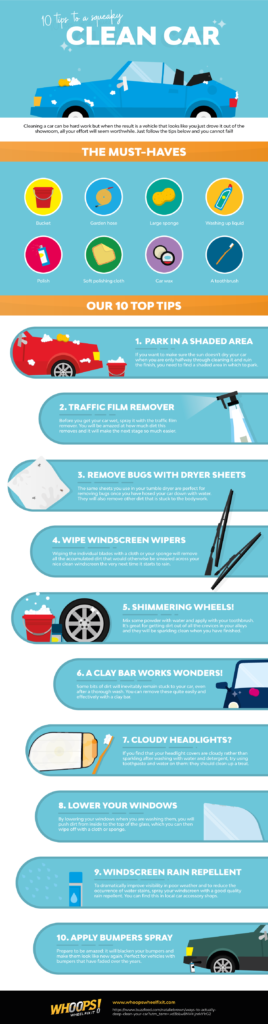 Tips on keeping your classic car clean