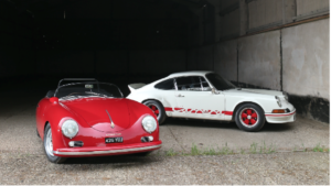 1957 Porsche 356A Carrera Speedster GS/GT and the 1973 Porsche 911 2.7 Carrera RS Lightweight