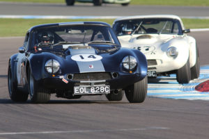 Guards Trophy action at Donington Park