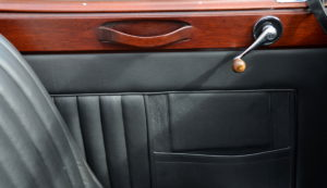 Everything a car should have leather, wood and chrome