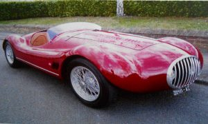 Barchetta body style for the OSCA Maserati Evocation, beauty for the road and race