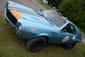 Built for the 2016 Peking to Paris, this AMC AMX covered 13,625 klms in 36 days, the 5.7 V8 detuned to run on any octane