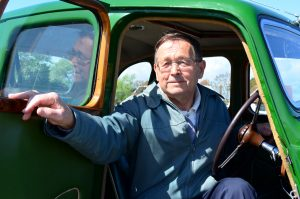 MG man and proud of it Geoff Crowter has enjoyed four Y Types over the years
